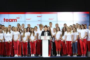 """Kaja Ziomek w programie """"Team 100"""""""