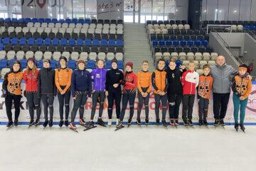 Zgrupowanie lodowe naszych łyżwiarzy